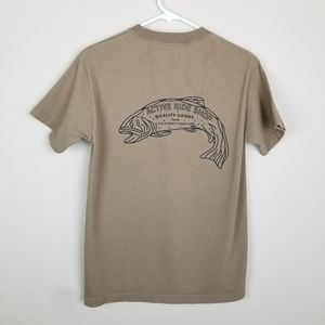 "Active ride Shop| ""Bass"" graphic tee shirt size S"